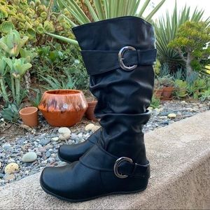 NIB Journee Collection PARIS Slouch mid calf boot